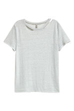 刷破T恤 - Grey - Ladies | H&M 2